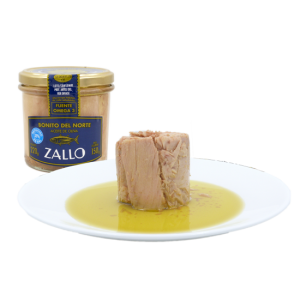 image-White Tuna in olive oil low in salt